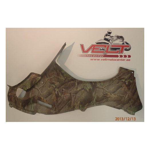 Side cover diagram  Kawasaki KVF750´06 camo 14091-0313-826