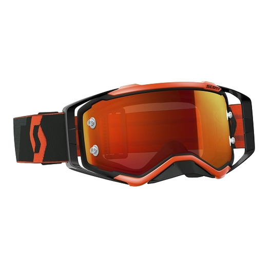 Black/fluo orange/orange chrome